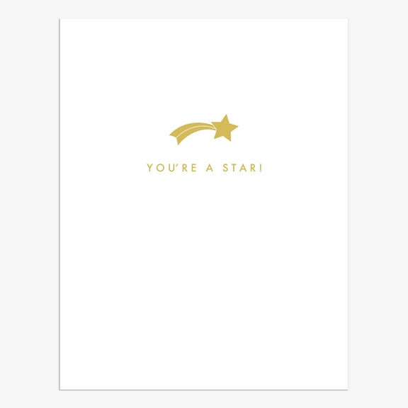 Pure You're a Star! Card | More Than Just A Gift