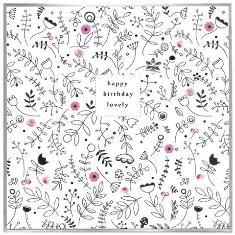 Piccadilly Happy Birthday Lovely Card