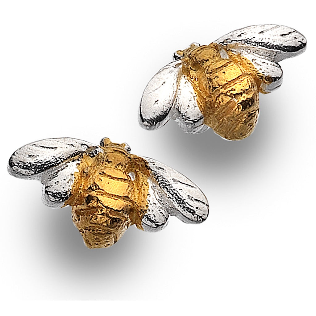 Pure Origins Bee Stud Earrings