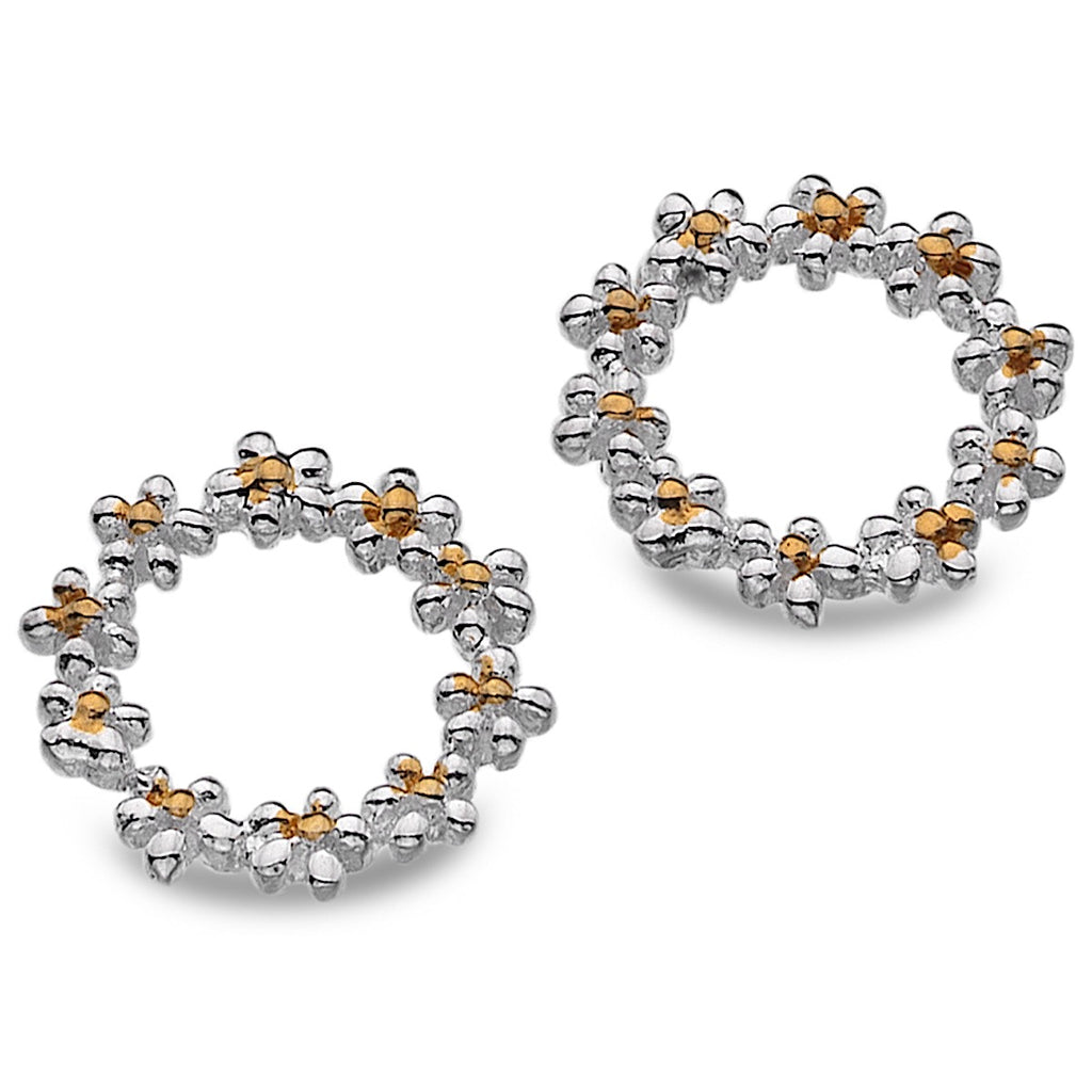 Pure Origins Daisy Circle Stud Earrings | More Than Just at Gift | Narborough Hall