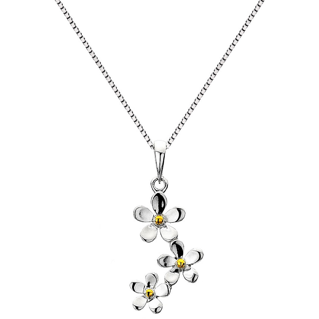 Pure Origins Triple Daisy Necklace | More Than Just at Gift | Narborough Hall