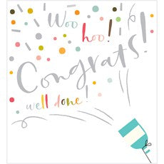 Sunrise Woo Hoo Congrats Card