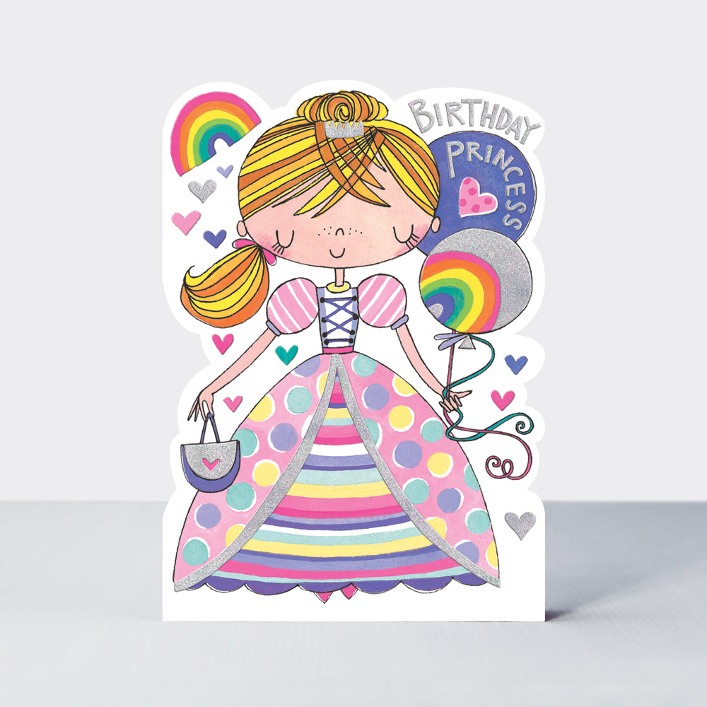 Star Jumps Birthday Princess Card