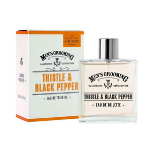 Thistle and Black Pepper Mens Grooming Aftershave | More Than Just at Gift | Narborough Hall