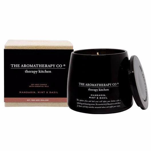 The Aromatherapy Co The Aromatherapy Co Therapy Kitchen Mandarin Mint & Basil Candle at More Than Just A Gift