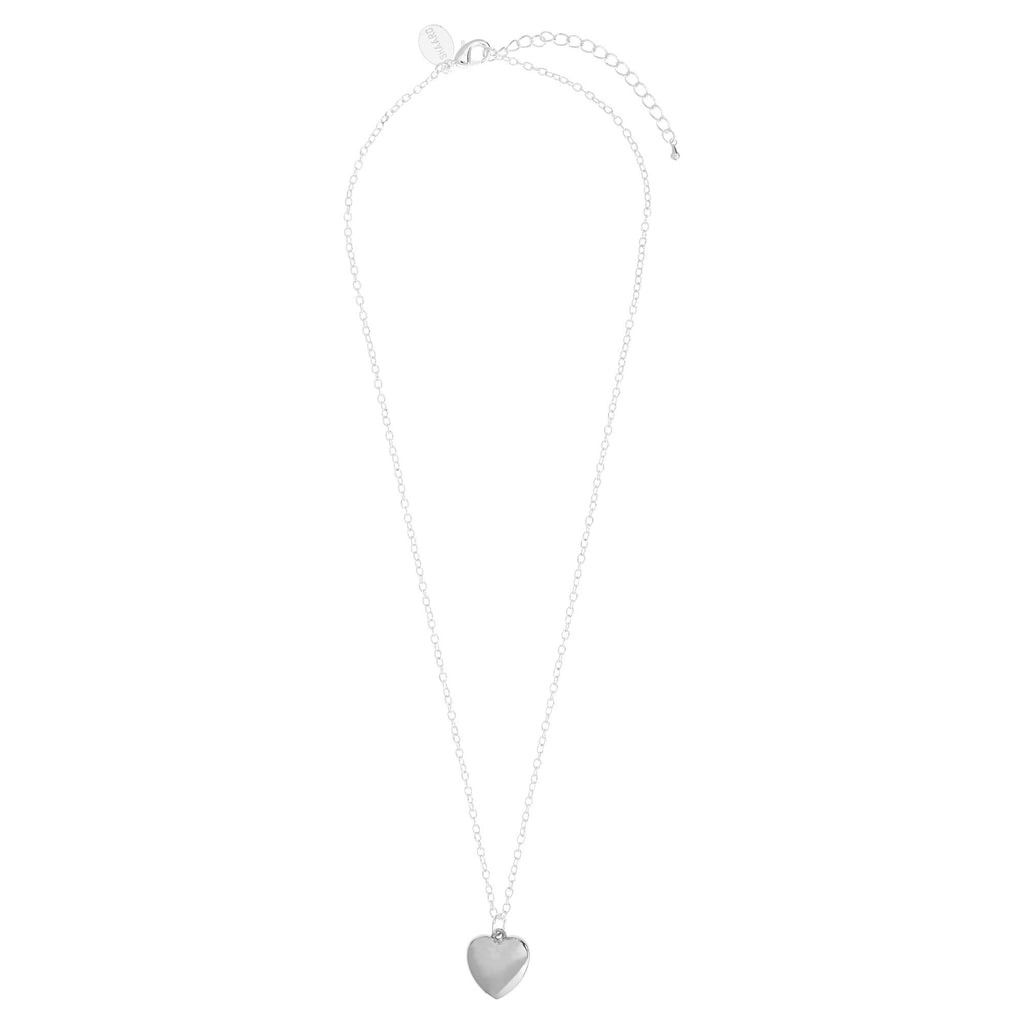 Silver Heart Necklace Shaard