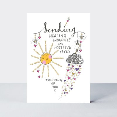 TLC Sending Healing Thoughts/Sun Card