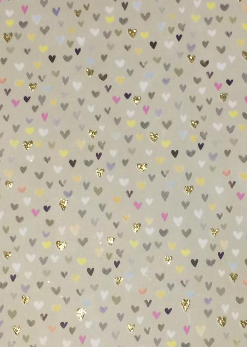 Glick Mini Hearts Sheet Wrap