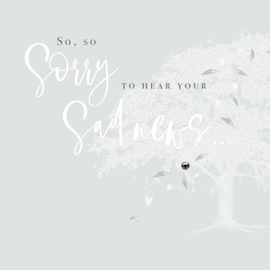 Affinity - So Sorry Sad News Card |More Than Just A Gift