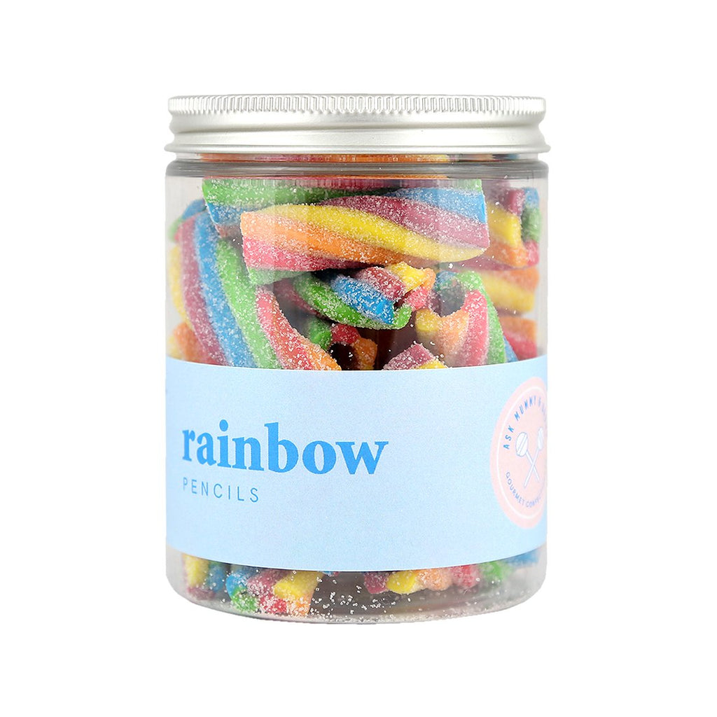 Ask Mummy and Daddy Gourmet Rainbow Pencils | More Than Just A Gift