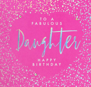 Aurora - Fabulous Daughter Birthday Card |More Than Just A Gift