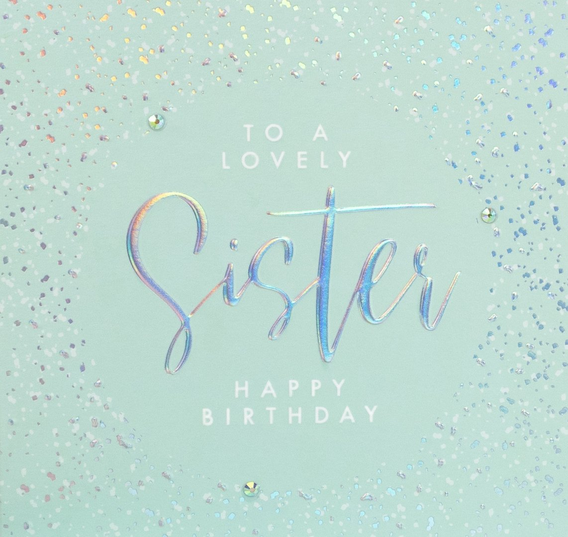 Aurora - Lovely Sister Birthday Card |More Than Just A Gift
