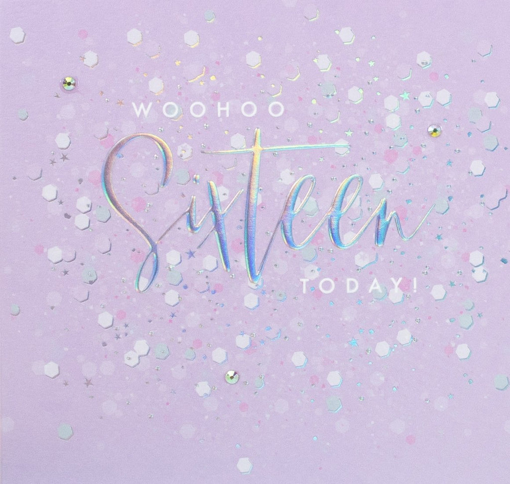 Aurora - Woohoo Sixteen Card |More Than Just A Gift