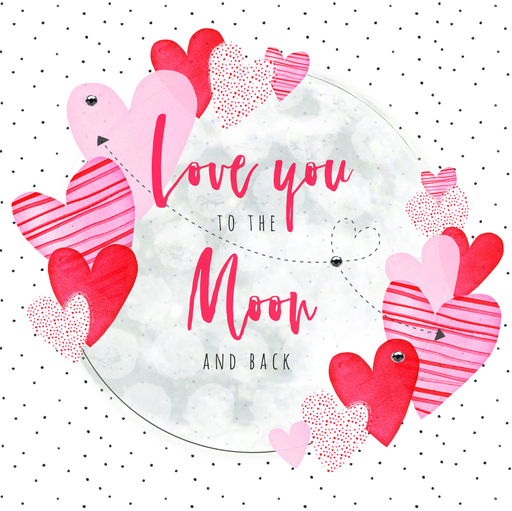 Always You - Love You To The Moon And Back Card