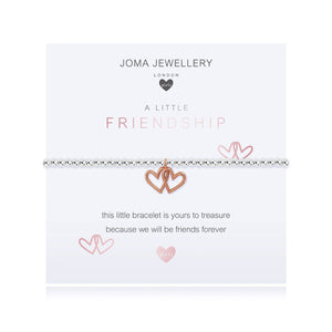 Joma Girls a little Friendship Bracelet - hearts | More Than Just A Gift