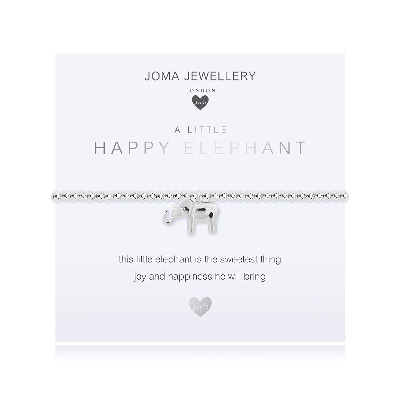 Joma Girls a little Happy Elephant Bracelet - elephant | More Than Just A Gift