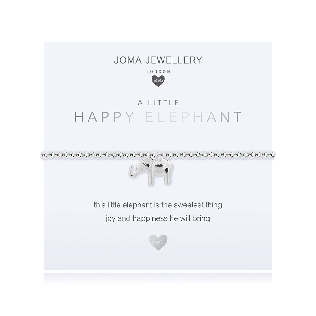 Joma Girls a little Happy Elephant Bracelet - elephant