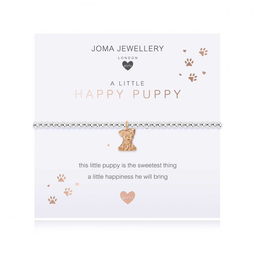 Joma Jewellery Children's a little Happy Puppy Bracelet | More Than Just A Gift