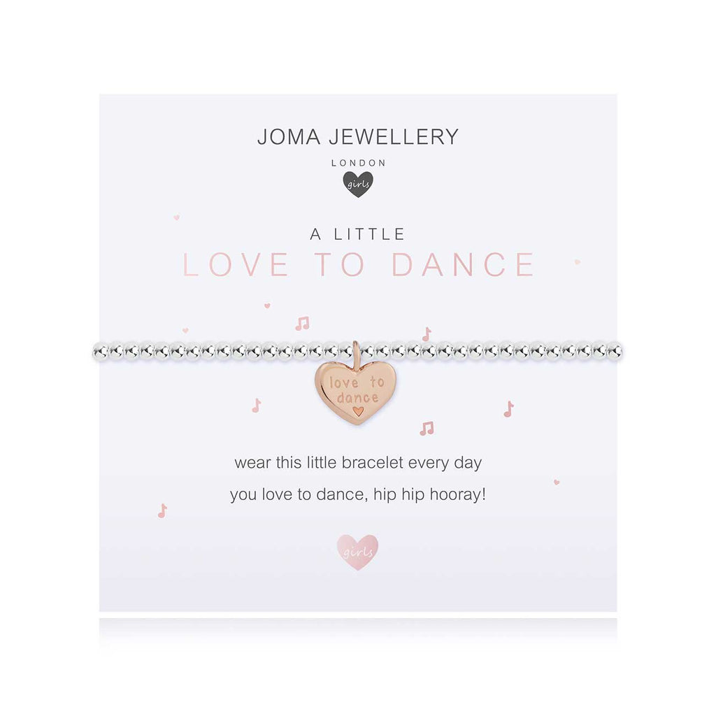 Joma Jewellery Children's a little Love To Dance Bracelet | More Than Just A Gift | Authorised Joma Jewellery Stockist| More Than Just A Gift