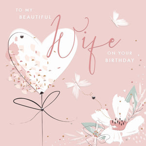 Callista Beautiful Wife Birthday Card