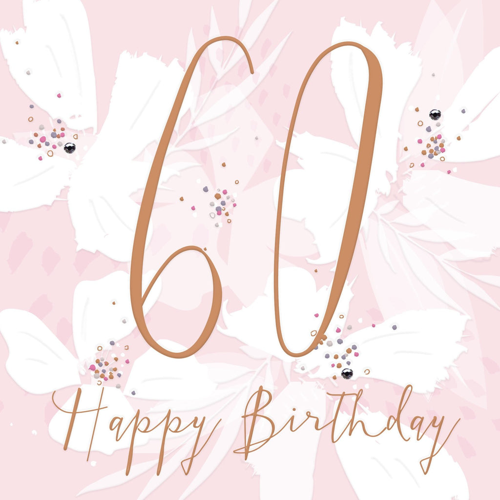 Callista - 60th Birthday Card |More Than Just A Gift