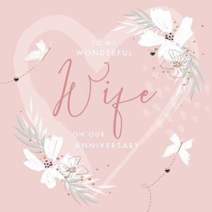 Callista Wife Wedding Anniversay Card |More Than Just A Gift