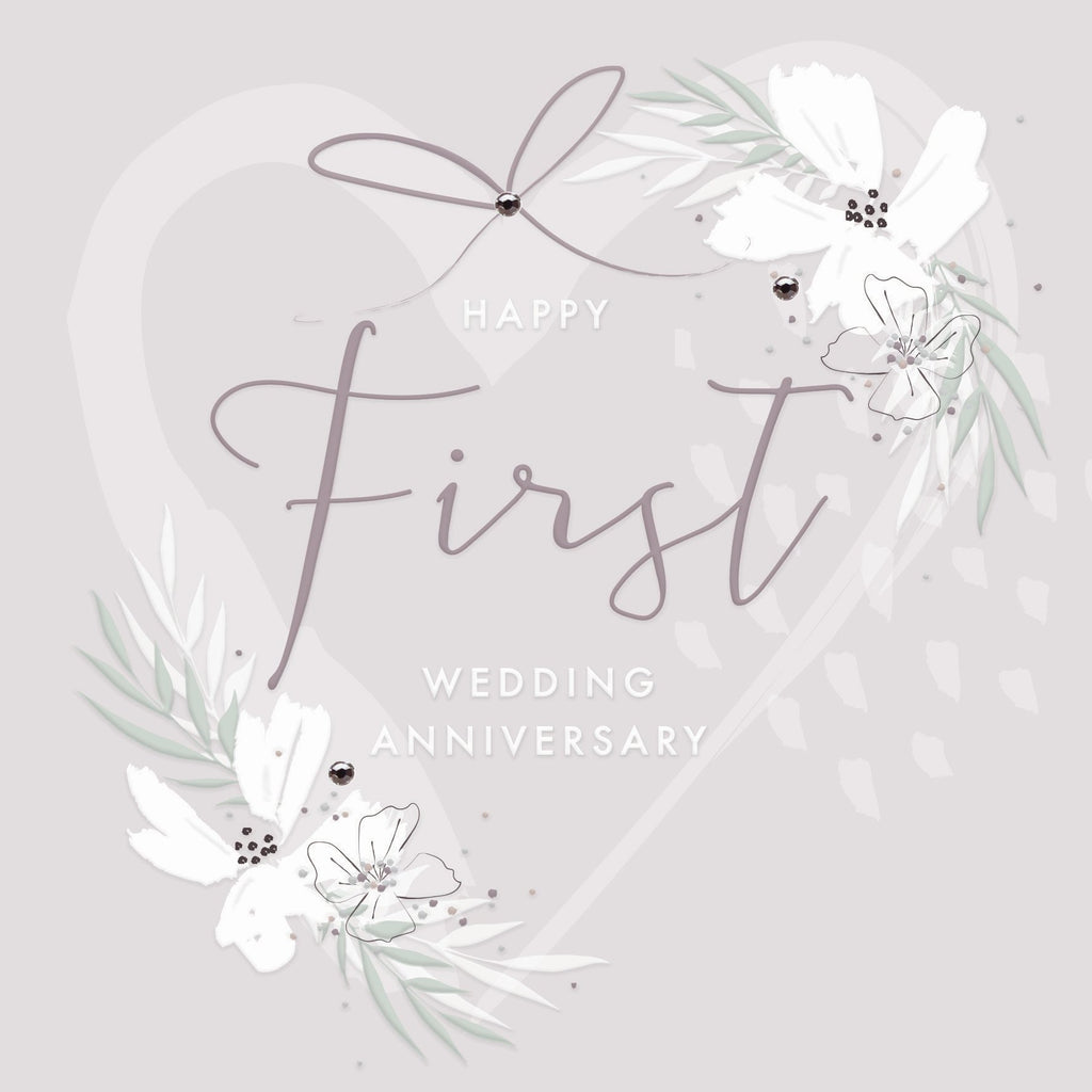 Callista First Wedding Anniversary Card |More Than Just A Gift