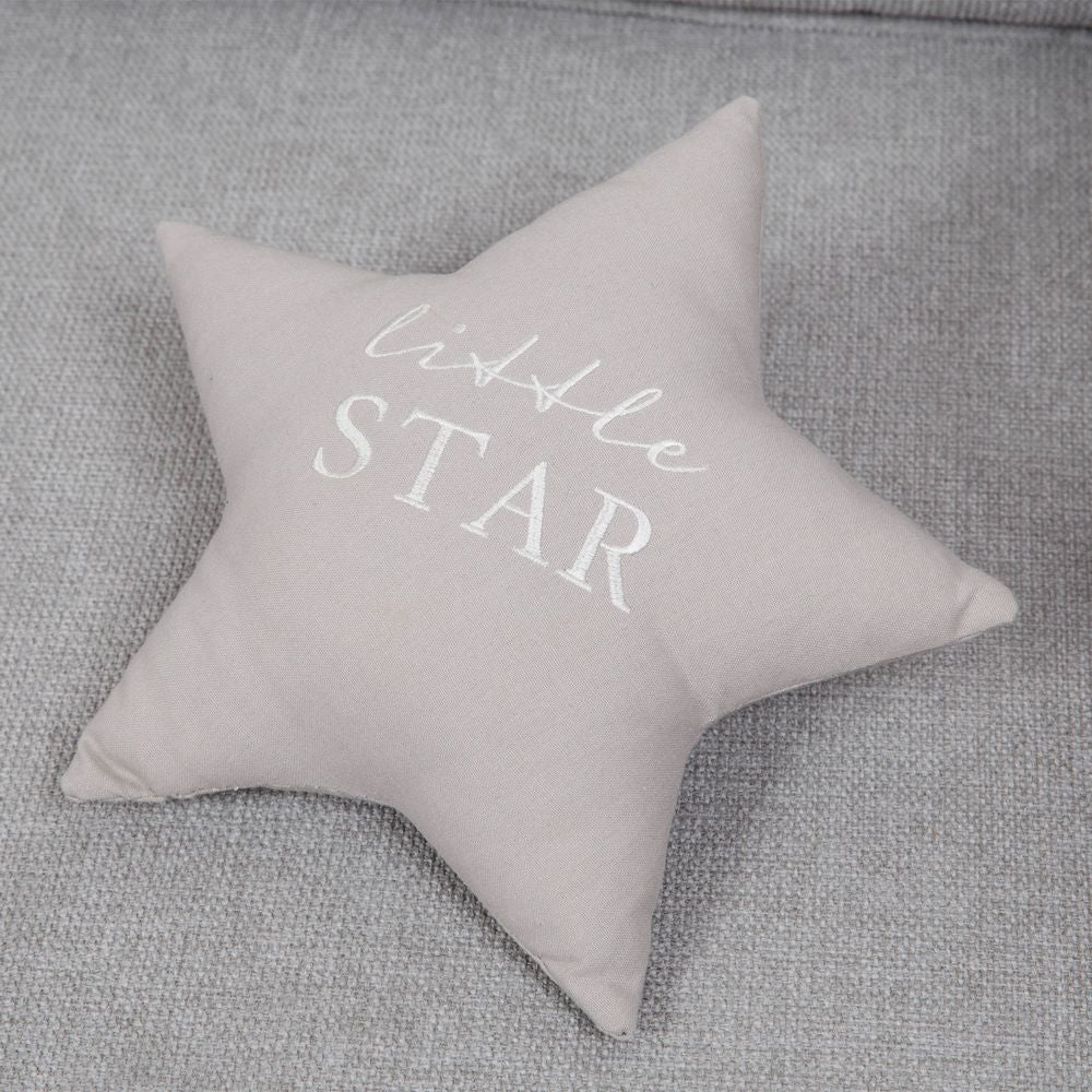 Bambino Linen Cushion Little Star