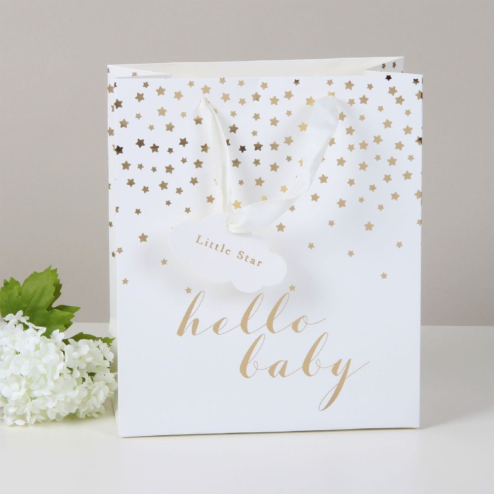 Bambino Hello Baby - Medium Gift Bag