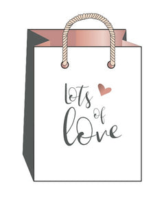 Art File Hearts & Kisses Small Gift Bag