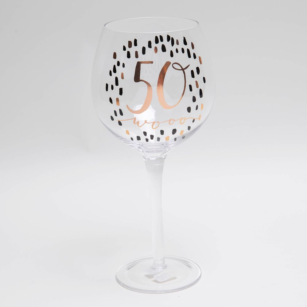 Luxe 50th Gin Glass