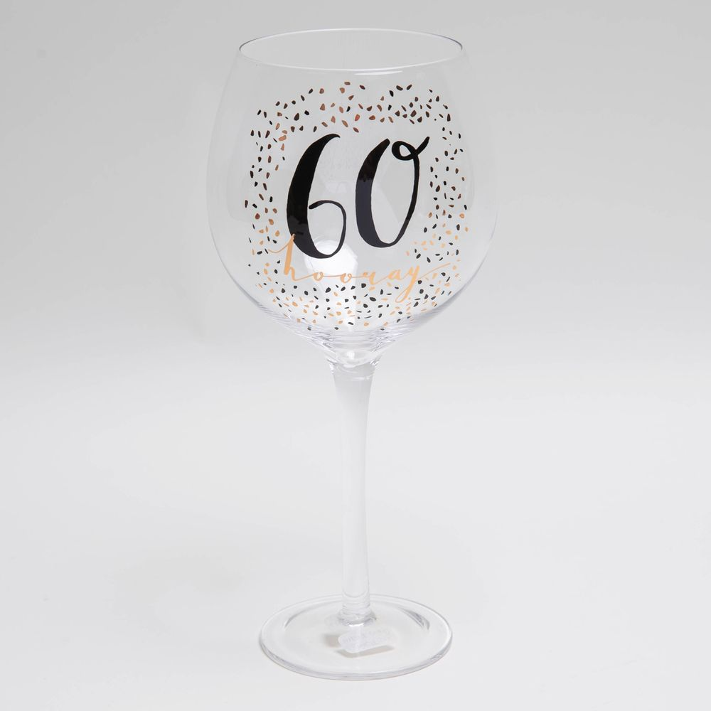 Luxe 60th Gin Glass