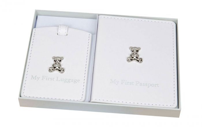 Bambino Passport Holder & Luggage Tag Set