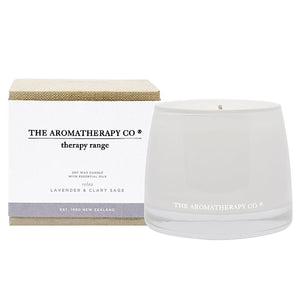 Therapy Range Relax Lavender & Clary Sage Candle