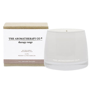 Therapy Range Sooth Petitgrain & Peony Candle