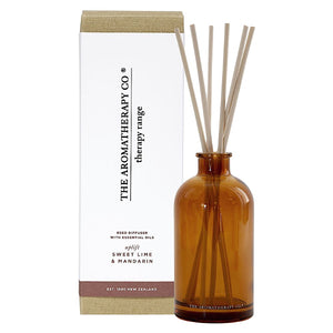 The Aromatherapy Co Therapy Range Uplift Lime & Mandarin Reed Diffuser at More Than Just A Gift