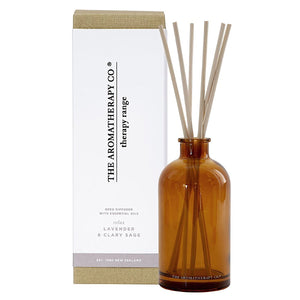The Aromatherapy Co The Aromatherapy Co Therapy Range Relax Lavender & Clary Sage Reed Diffuser at More Than Just A Gift