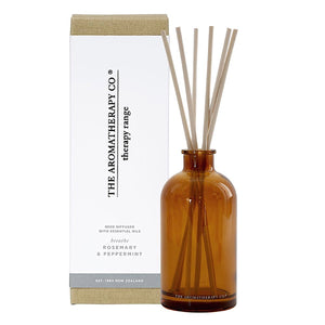 The Aromatherapy Co Therapy Range Breathe Rosemary & Peppermint Reed Diffuser at More Than Just A Gift