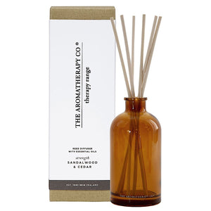 The Aromatherapy Co The Aromatherapy Co Therapy Range Strength Sandalwood & Cedar Reed Diffuser at More Than Just A Gift