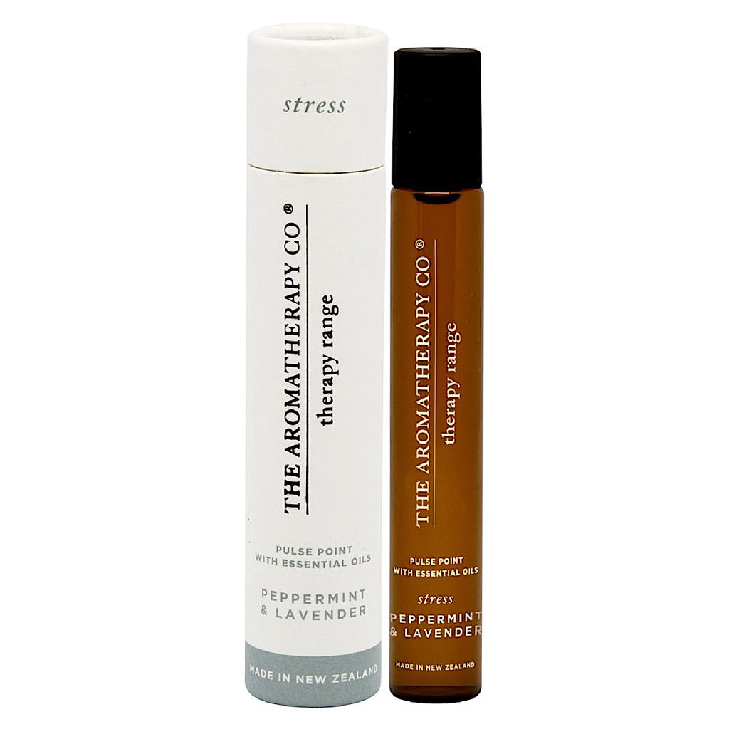 The Aromatherapy Co The Aromatherapy Co Therapy Range Stress Peppermint & Lavender Pulse Point at More Than Just A Gift