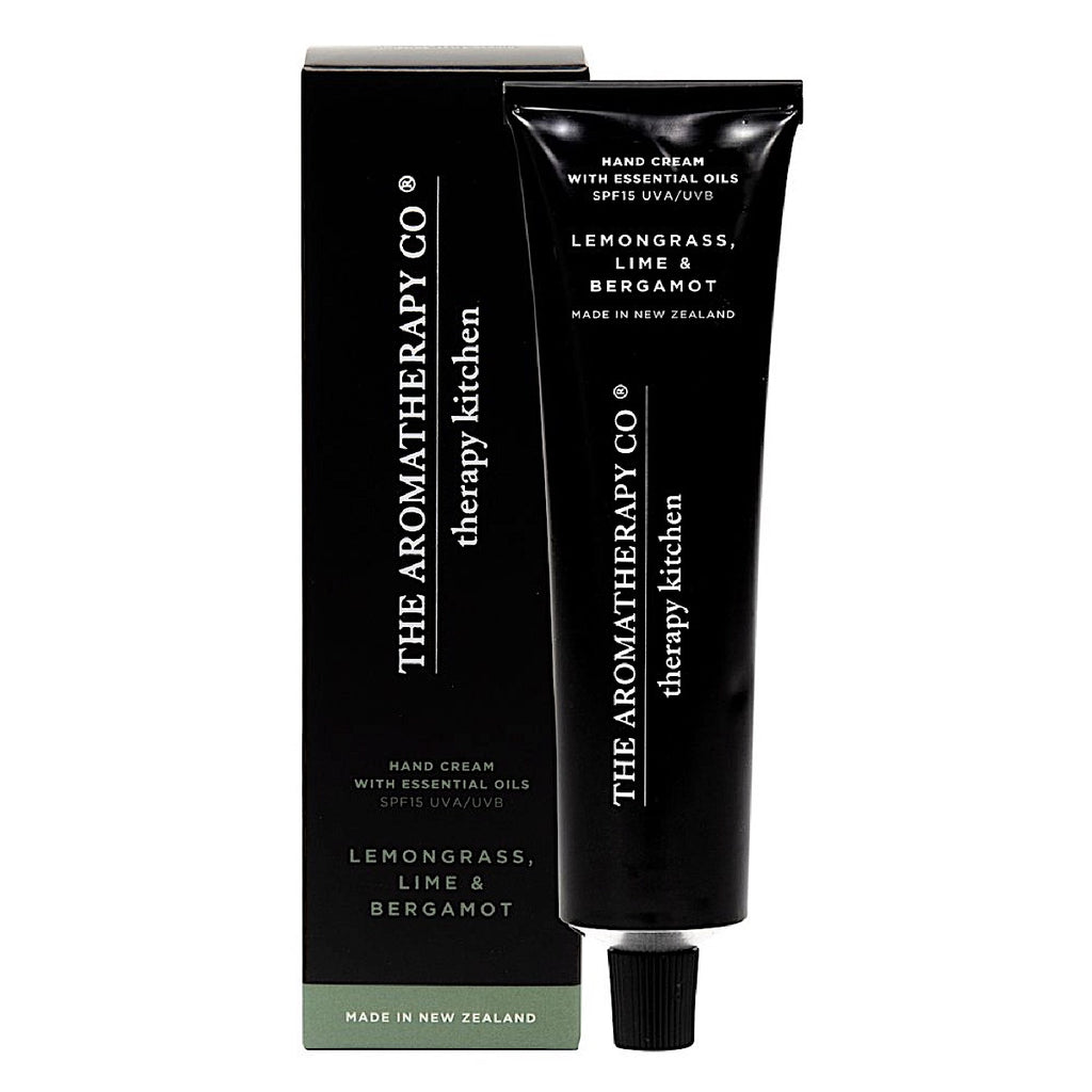 The Aromatherapy Co Therapy Kitchen Lemongrass, Lime & Bergamot Hand Cream Tube at More Than Just A Gift