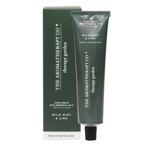 Aromatherapy Co Therapy Garden Hand Cream Wild Mint and Lime