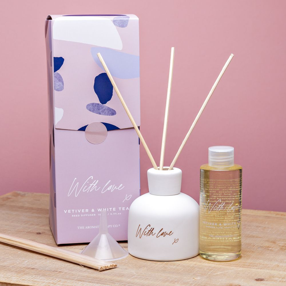 Aromatherapy Co With Love Diffuser Vetiver & White Tea