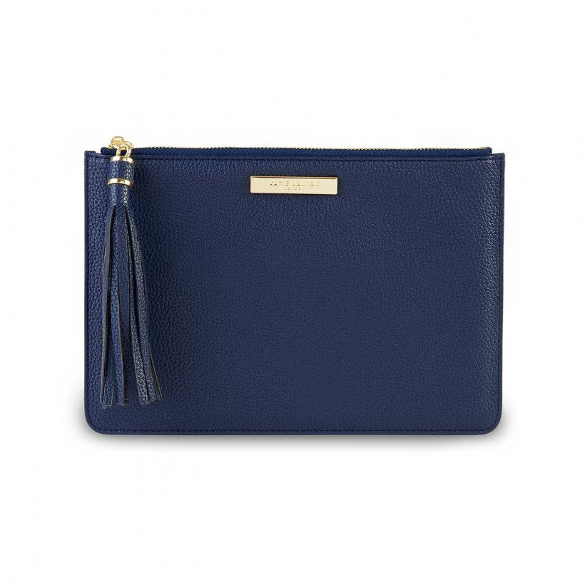 Katie Loxton Navy  Tassel Pouch | More Than Just A Gift