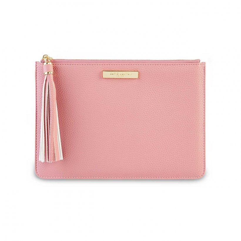 Katie Loxton Pink  Tassel Pouch | More Than Just A Gift