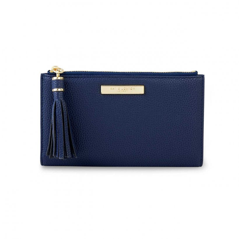 Katie Loxton Navy  Tassel Fold Out Purse | More Than Just A Gift