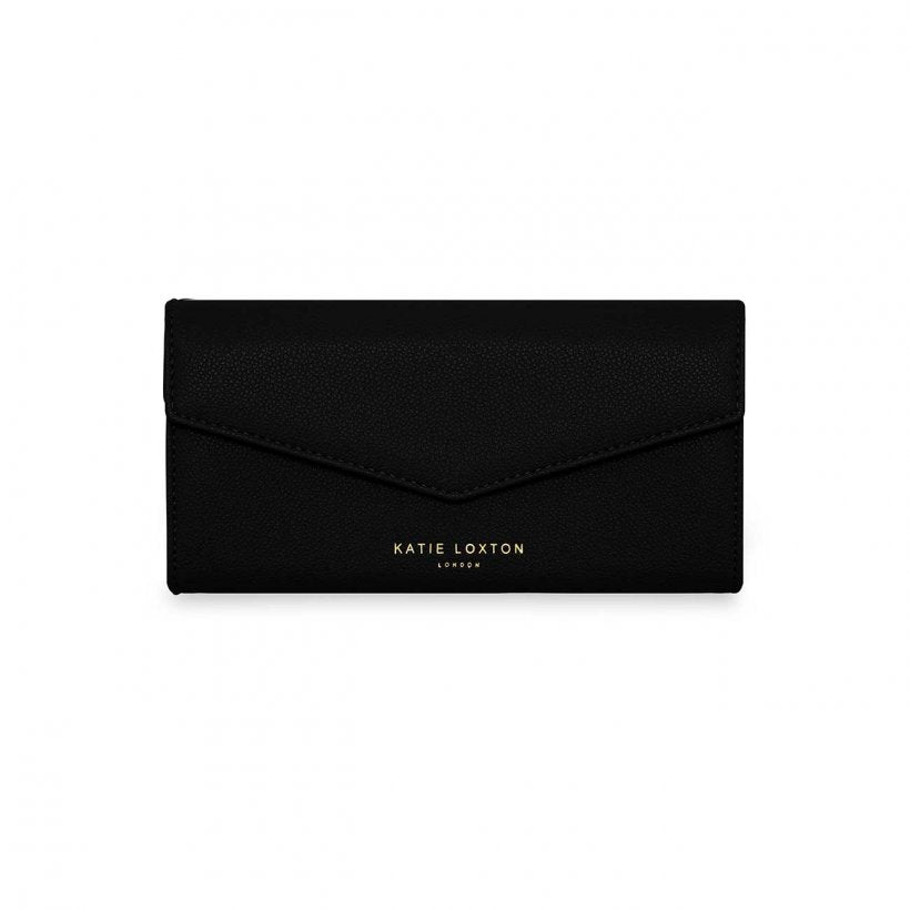 Katie Loxton One In A Million Black Esme Envelope Purse | More Than Just A Gift