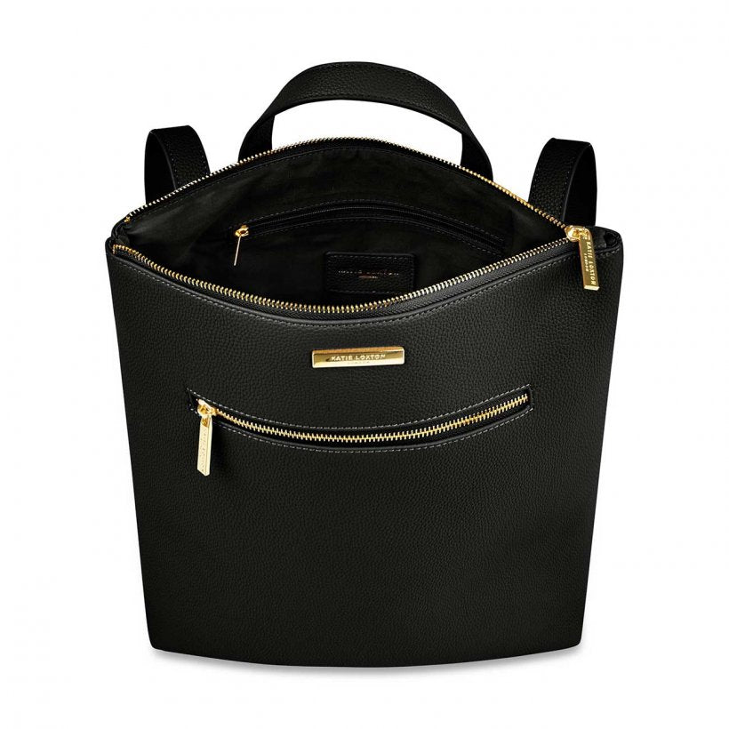 Katie Loxton Black Brooke Backpack