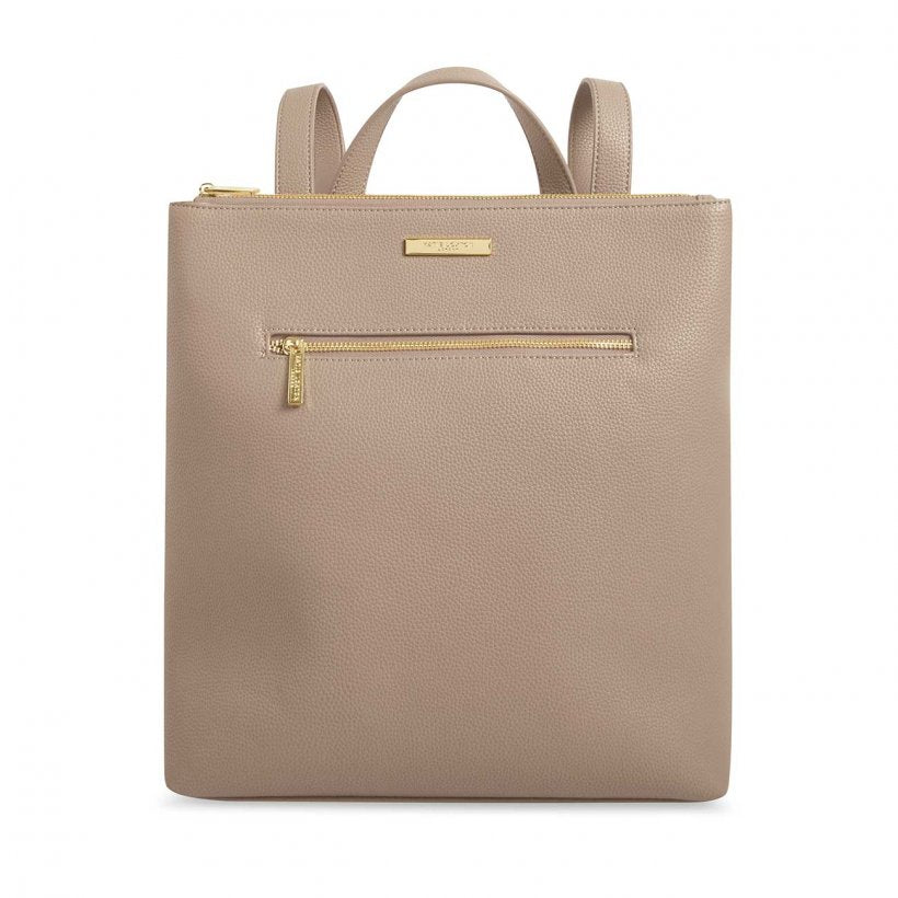 Katie Loxton Taupe  Brooke Backpack | More Than Just A Gift