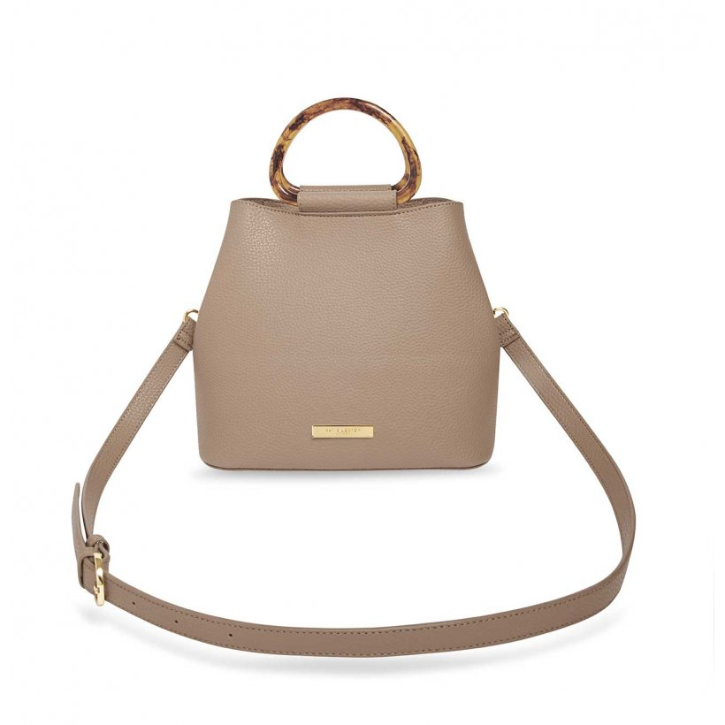 Katie Loxton Taupe Tori Tortoiseshell Bag | More Than Just A Gift